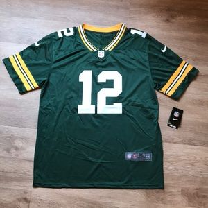 NWT NFL Green Bay Packers Aaron Rodgers Jersey